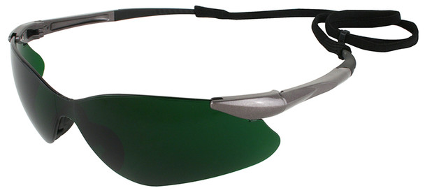 KleenGuard Nemesis VL Safety Glasses with Shade 5 Lens