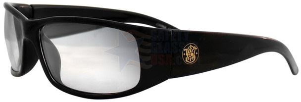 Smith & Wesson Elite Safety Glasses with Black Frame and Indoor/Outdoor Lens