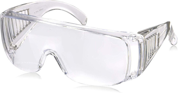 Radians Chief Overspec Safety Glasses with Clear Lens 360-C