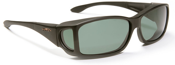 Haven Windemere OTG Sunglasses with Black Frame and Gray Polarized Lens
