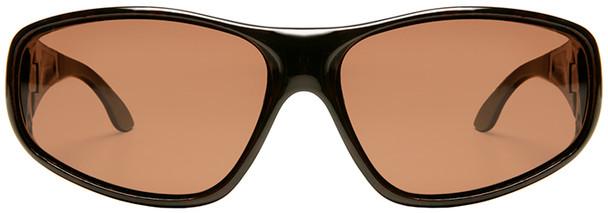 Haven Rainier OTG Sunglasses with Tortoise Frame and Amber Polarized Lens - Front