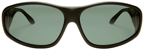 Haven Everest OTG Sunglasses with Black Frame and Gray Polarized Lens - Front