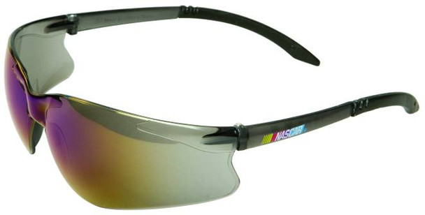 NASCAR GT Safety Glasses with Blue Mirror Lens