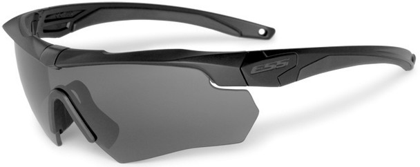 ESS Crossbow 3LS Safety Glasses Kit with Black Frame and Clear, Gray and Yellow Lenses