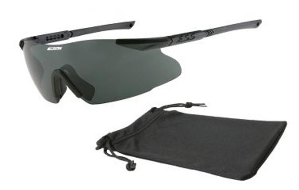 ESS ICE Eyeshield with Smoke Gray Lens
