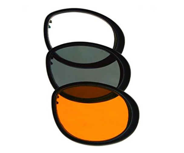 Bobster Cruiser 2 Motorcycle Goggles Lens Colors