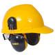 DeWalt Cap Mount Interceptor Ear Muffs DPG66-D Installed On Hard Hat