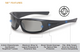 ESS 5B Sunglasses with Black Frame and Polarized Mirror Lenses