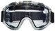 Haber Liquidator Splash Goggle with Dual Clear Lens and Eliminator PLUS Fan HS-12142 - Front View