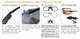 ESS Crossbow Suppressor Safety Glasses with Black Frame and HD Copper Lens