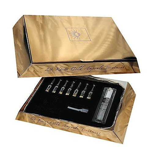 Swisa Beauty 24 Karat Gold Ampaule Set.