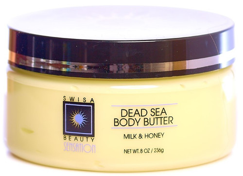 Swisa Beauty Dead Sea Body Butter - Thick and Creamy Skin Softener - Leaves The Skin Silky, Smooth and Refreshed.