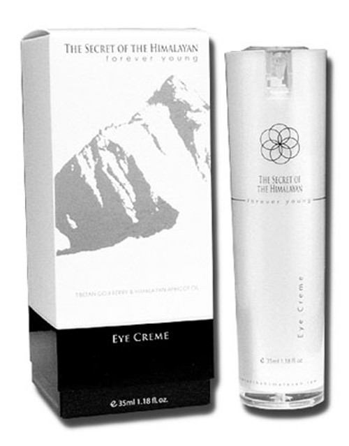 The Secret Of The Himalayan Eye Creme.