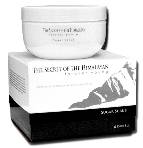 The Secret Of The Himalayan Sugar Scrub.