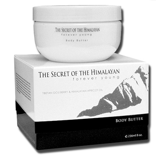 The Secret Of The Himalayan Body Butter.
