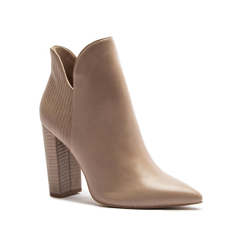 Maggie Taupe Booties