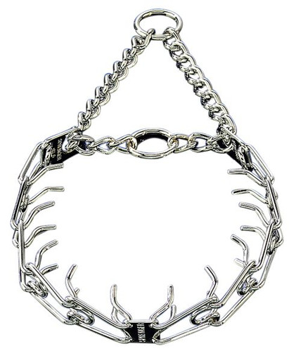 HS Chrome Pinch Martingale Collar