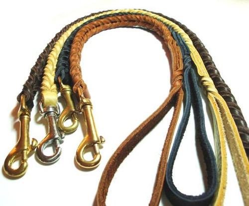 Handmade Leather Leashes