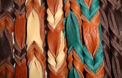 Bullhide Colors: Chocolate Brown, Tobacco, Sand, Teal