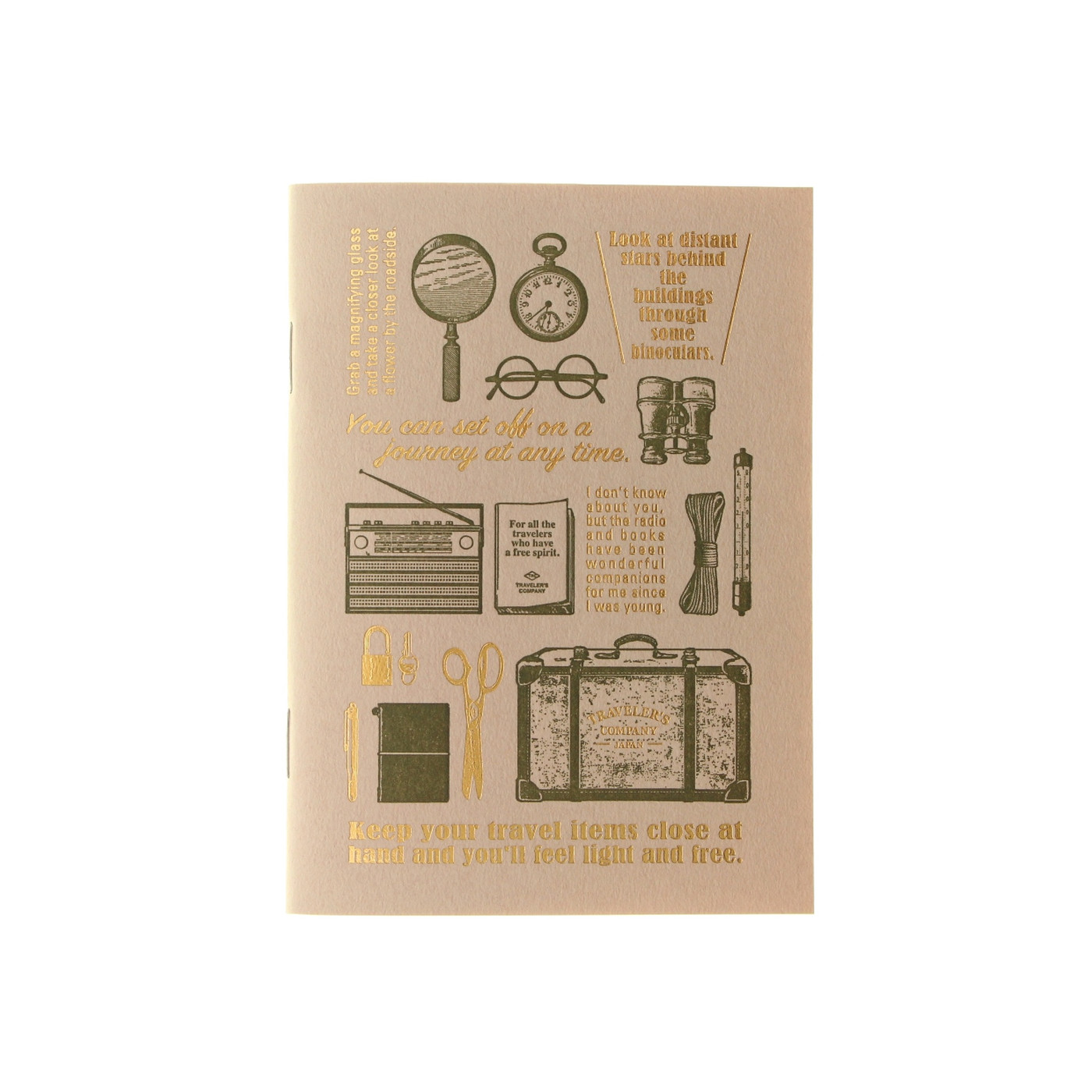 TRAVELER'S COMPANY Travel Tools - notebook refill - passport size