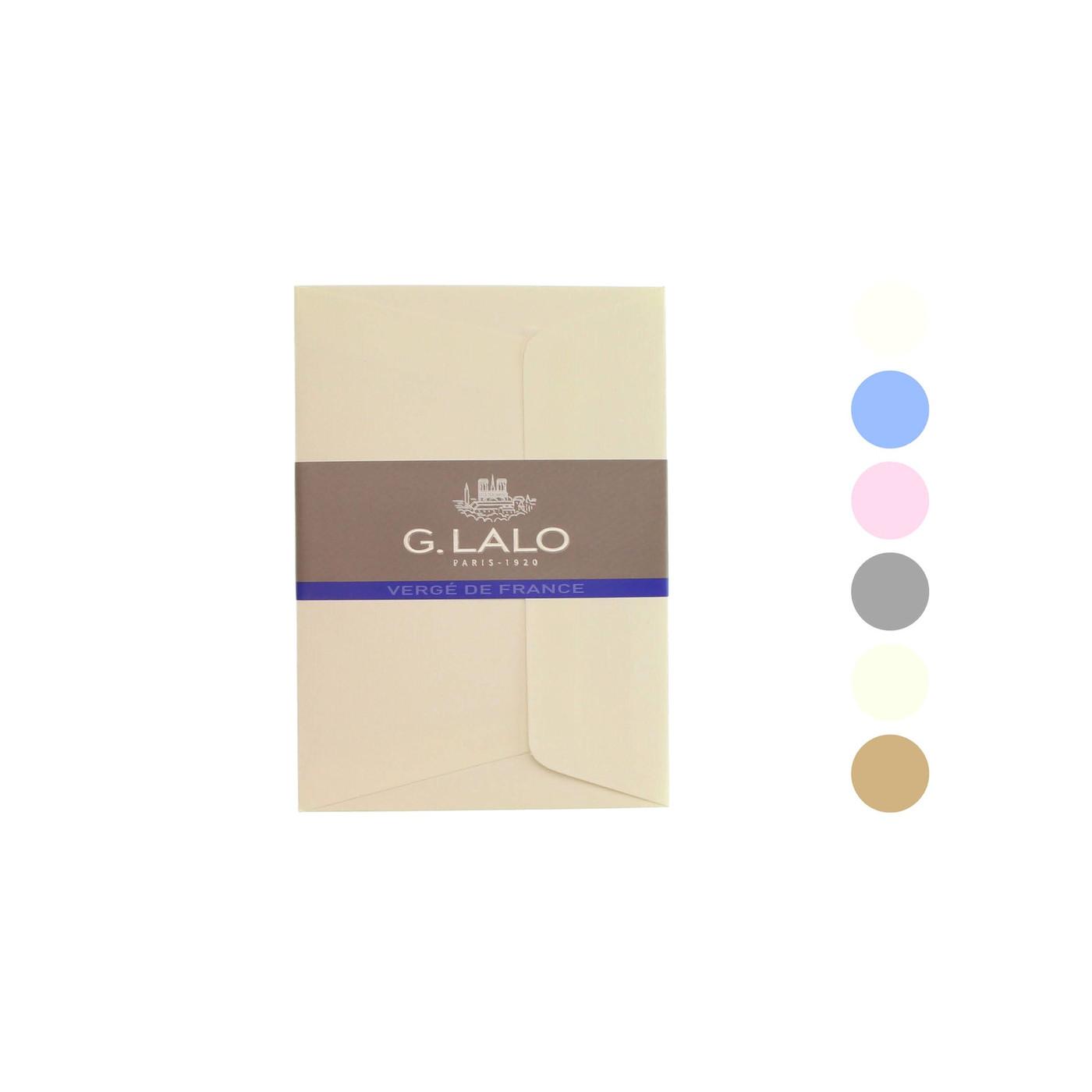G Lalo Verge de France envelopes - C6