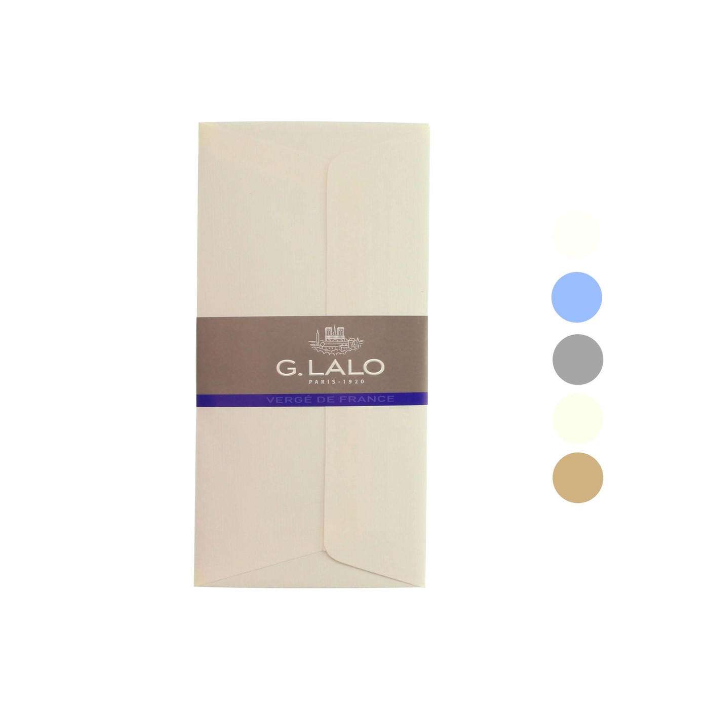 G Lalo Verge de France envelopes - DL