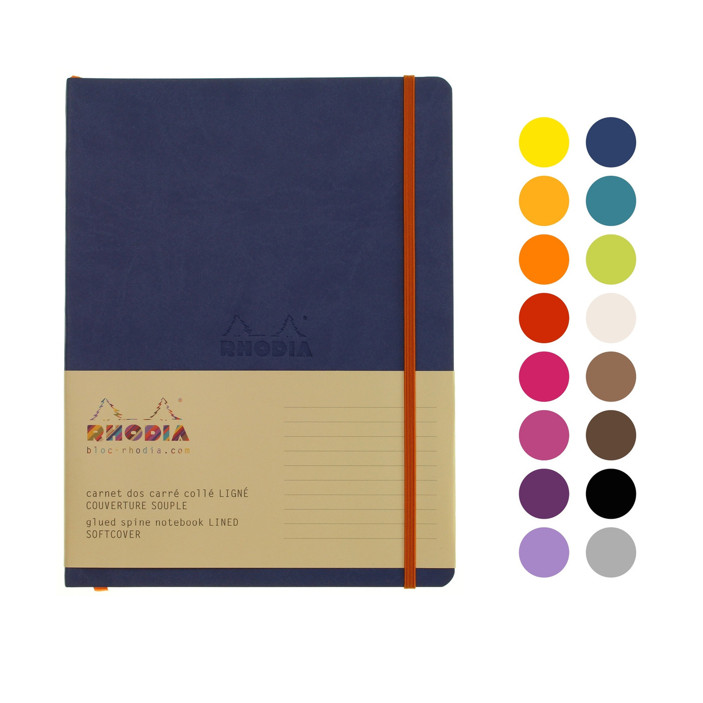 Rhodia soft cover notebook B5 - LINED