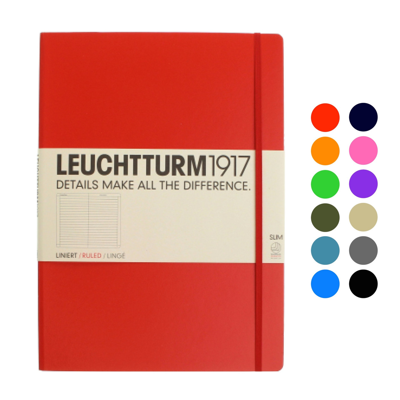 Leuchtturm1917 notebook - A4+ Slim LINED