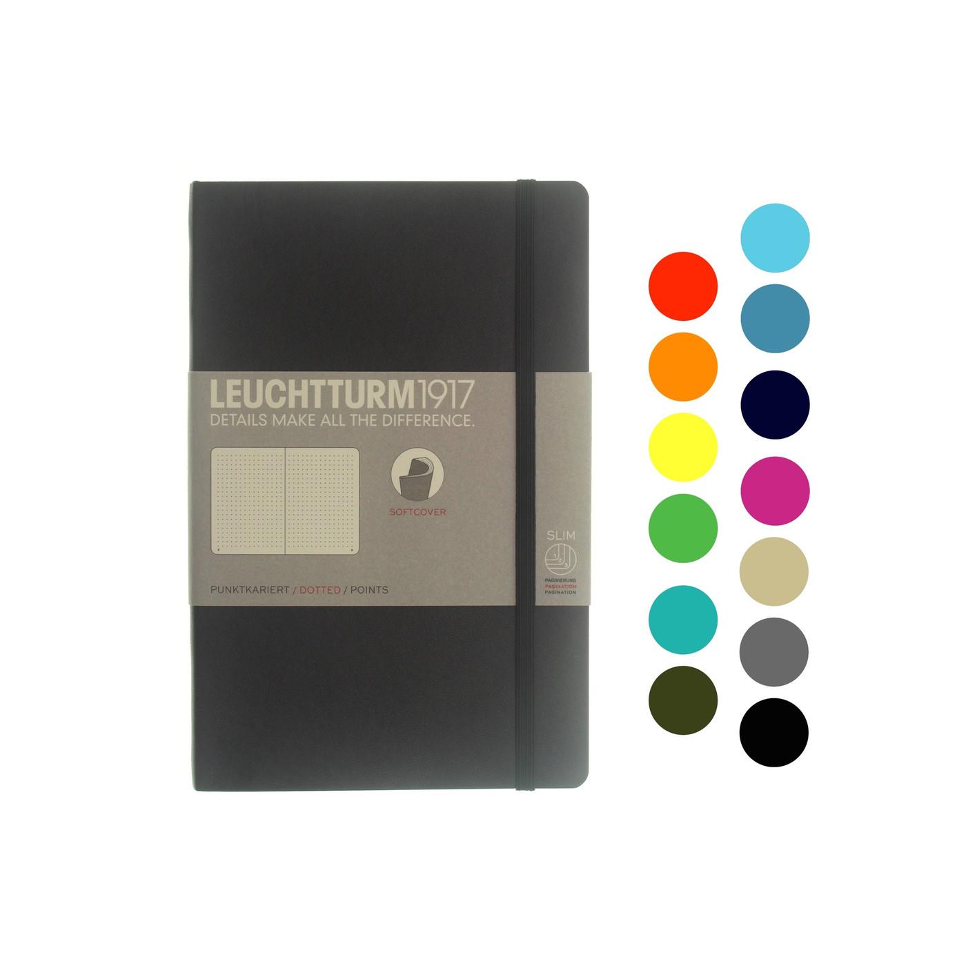 Leuchtturm1917 notebook - B6 soft cover DOTTED