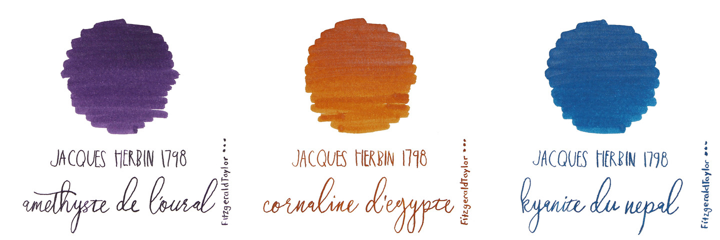 Jacques Herbin 1798 Anniversary fountain pen ink