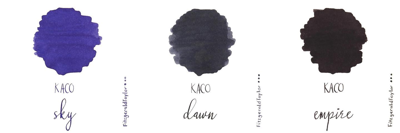 Kaco fountain pen ink cartridges