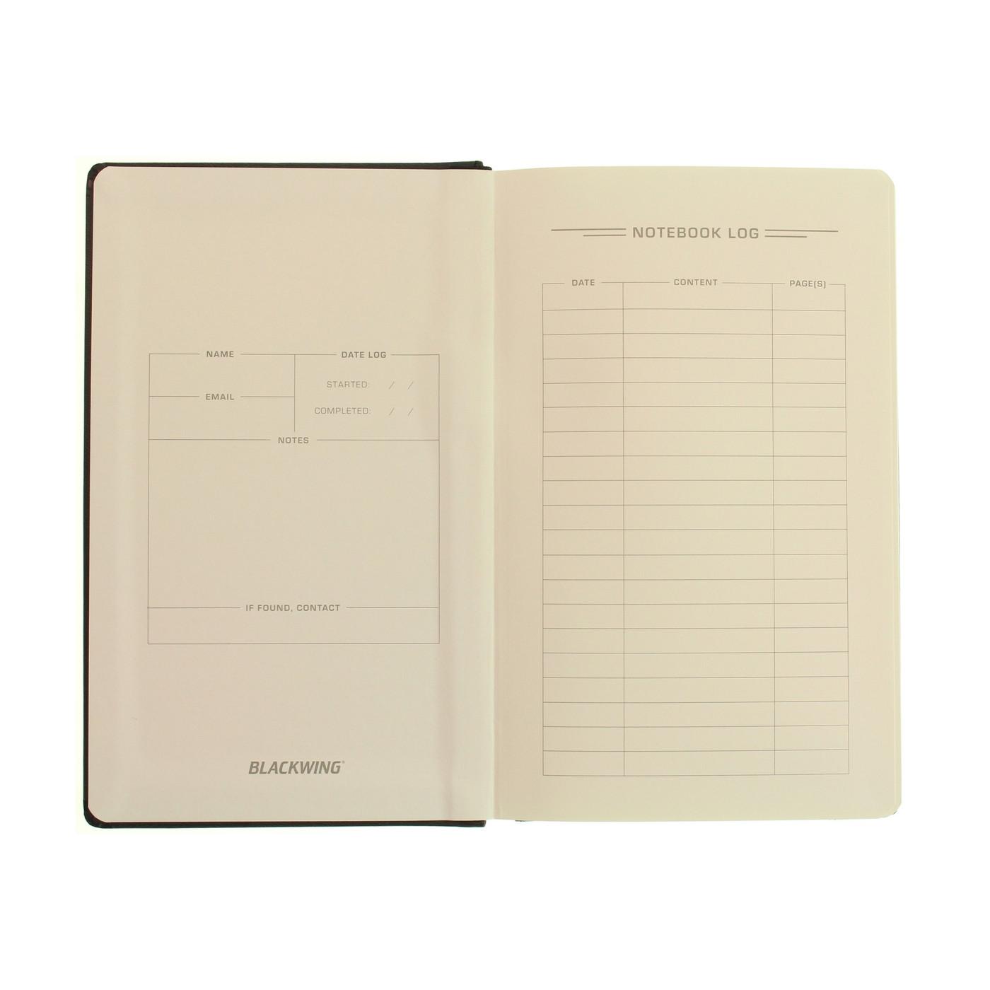 Blackwing Slate notebook - A5 BLANK