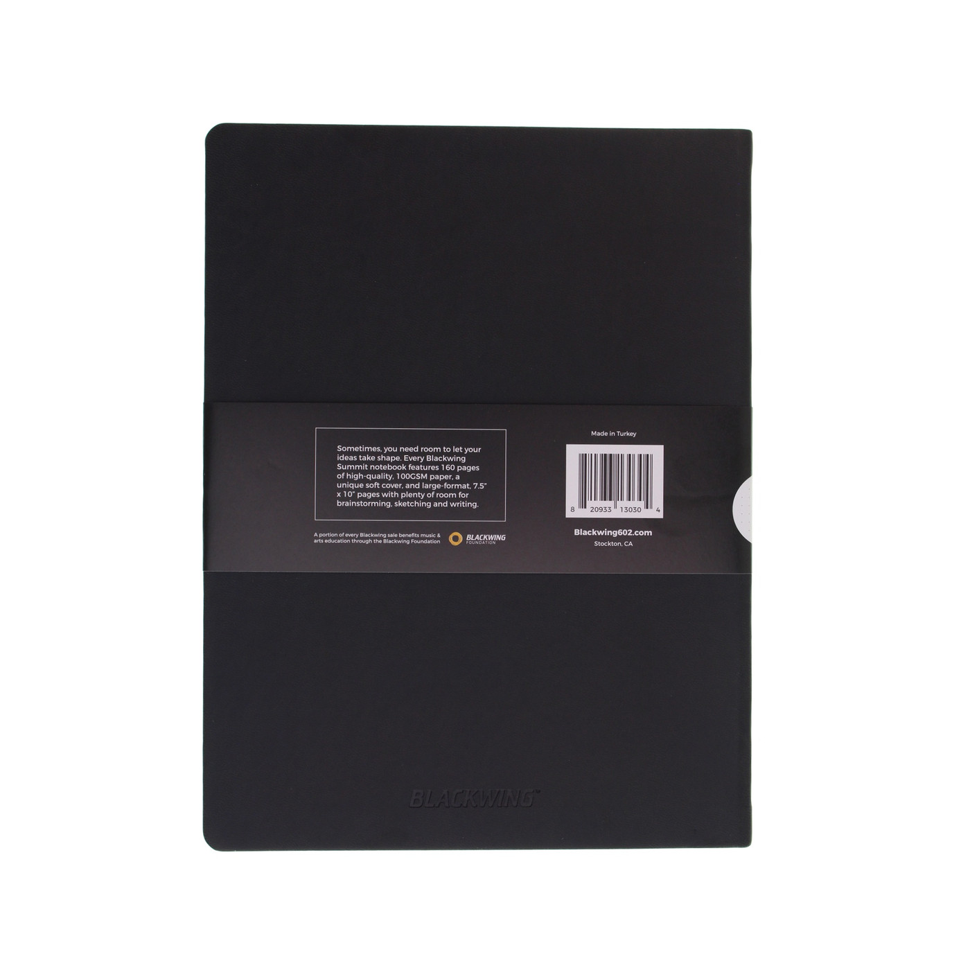 Blackwing Summit notebook - B5 LINED