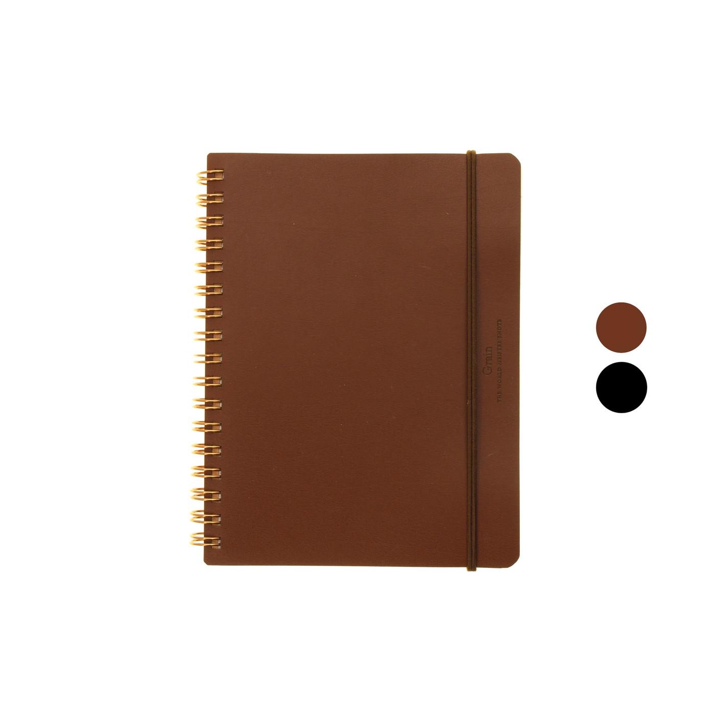 Midori Grain notebook - B6 LINED / BLANK