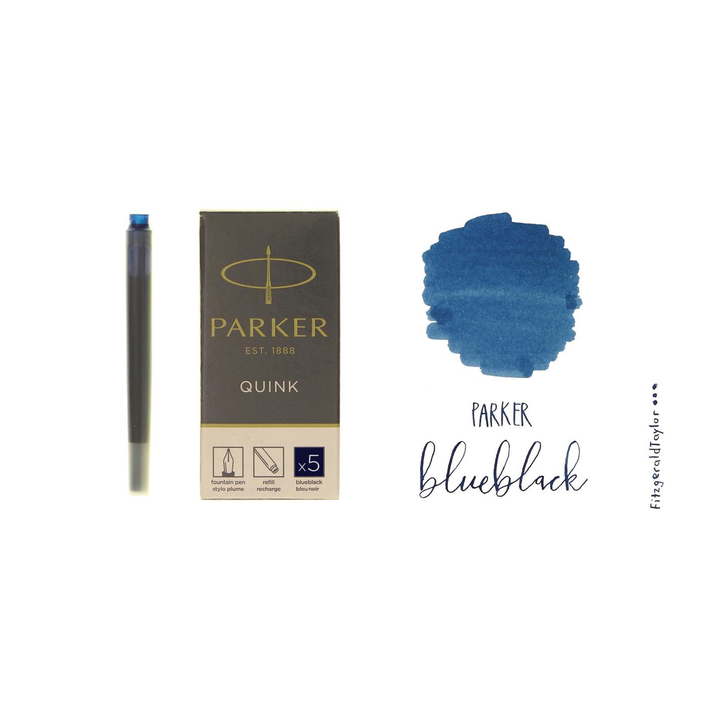 Parker Quink fountain pen ink cartridges
