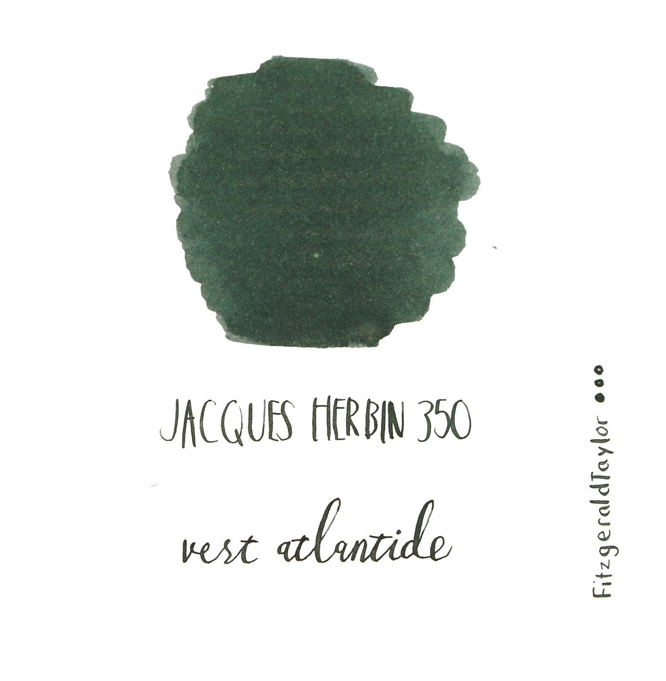 Jacques Herbin 350 Anniversary fountain pen ink