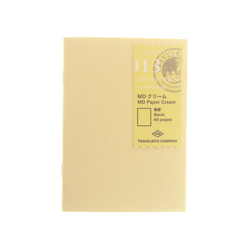 TRAVELER'S notebook 013 MD Cream Paper Passport Size