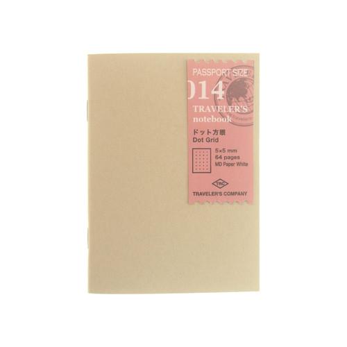 TRAVELER'S notebook 014 Dot Grid Passport Size