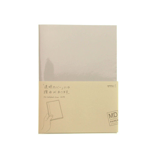 MD Paper notebook cover - CLEAR - A5