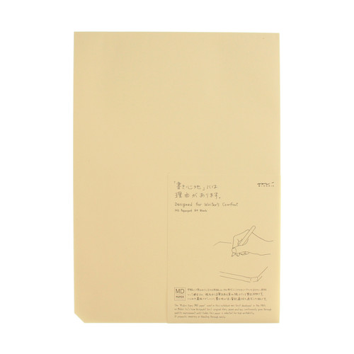 MD Paper pad - A4 - BLANK