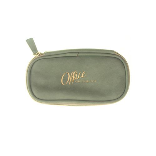 "DesignWorks Ink ""Office on the go"" stationery pouch"