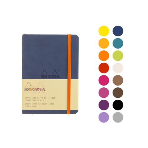Rhodia soft cover notebook A6 - LINED