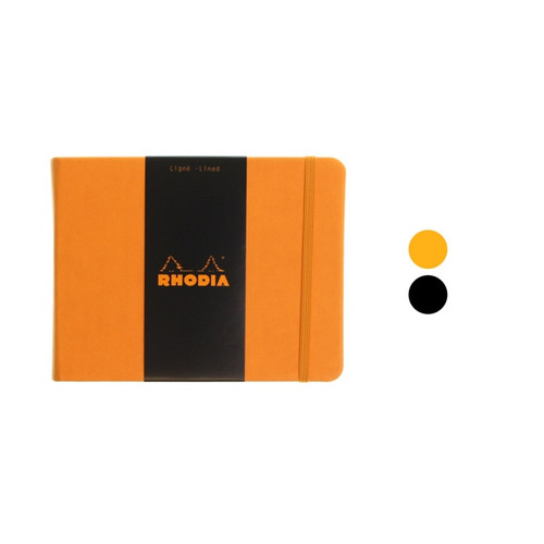 Rhodia Webnotebook - 14x11cm landscape LINED