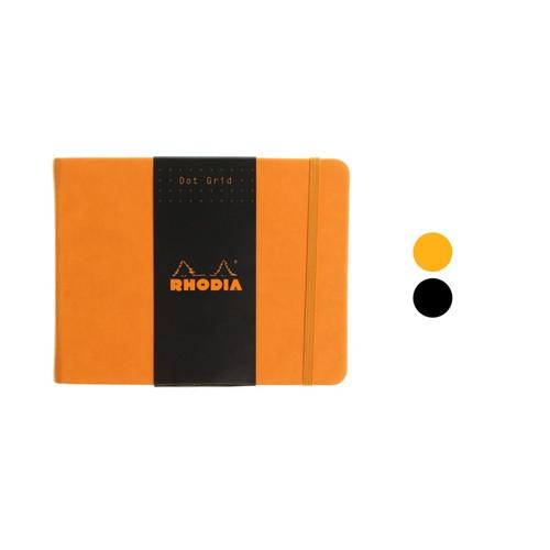 Rhodia Webnotebook - 14x11cm landscape DOTTED