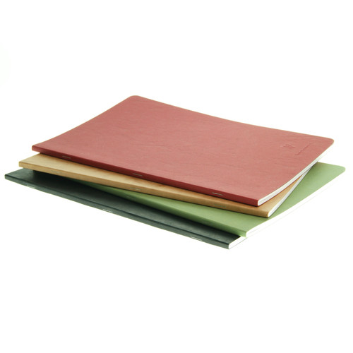 Clairefontaine AgeBag notebook - A4 BLANK (stapled)