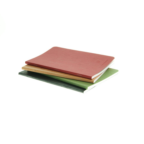 Clairefontaine AgeBag notebook - A5 BLANK (stapled)