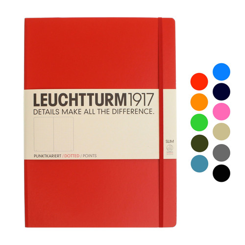 Leuchtturm1917 notebook - A4+ Slim DOTTED