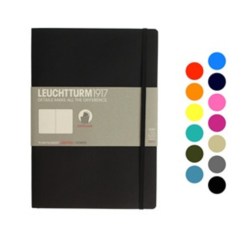 Leuchtturm1917 notebook - B5 soft cover DOTTED