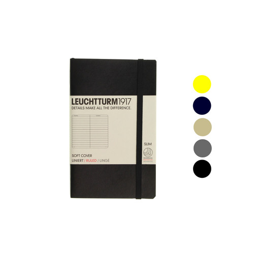 Leuchtturm1917 notebook - A6 soft cover LINED