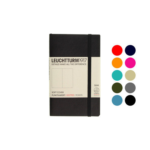 Leuchtturm1917 notebook - A6 soft cover DOTTED